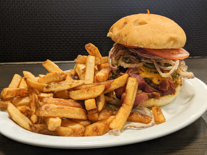 The Trooper Burger from Zanders